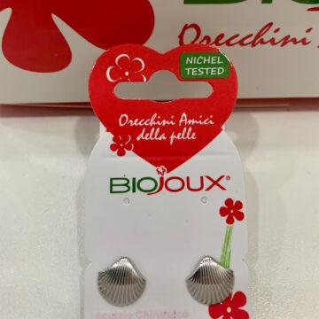 Biojoux medicinski uhani morska školjka