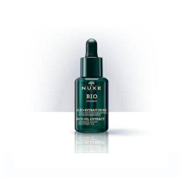 Nuxe Bio nočno olje za regeneracijo kože