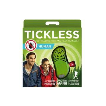 Tickless Human ultrazvočni odganjalec klopov zelen