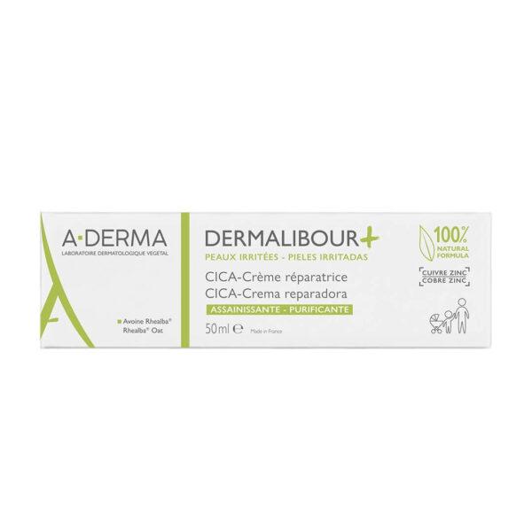 A-Derma Dermalibour+ obnavljajoča CICA-krema