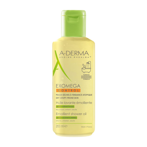 A-Derma Exomega Control olje za tuširanje