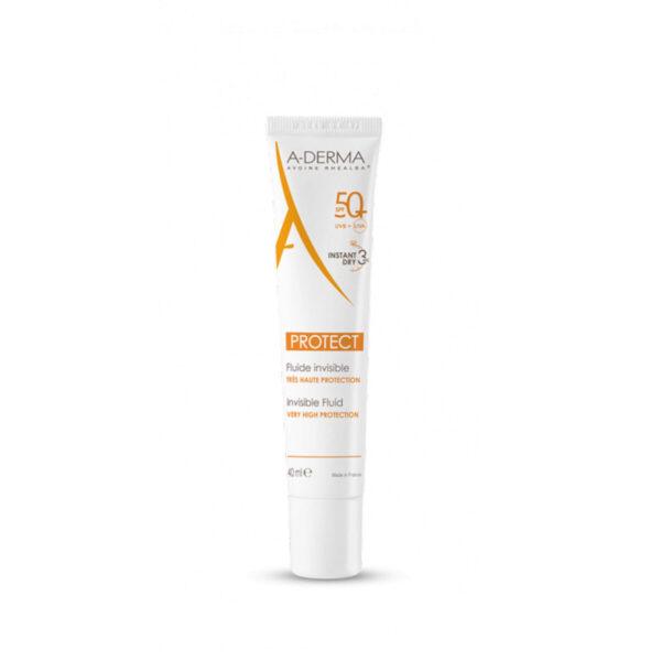 A-Derma Protect nevidni fluid ZF 50+, 40 ml