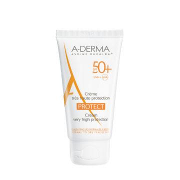 A-Derma Protect zaščitna krema ZF 50+.