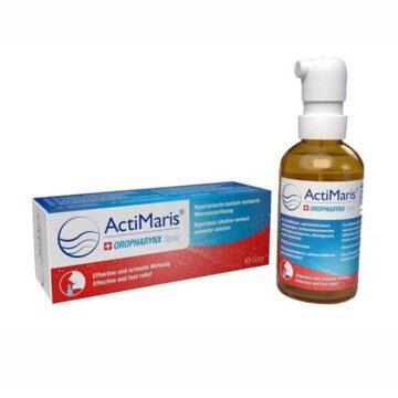 ActiMaris Oropharynx pršilo za usta, grlo in žrelo, 50 ml