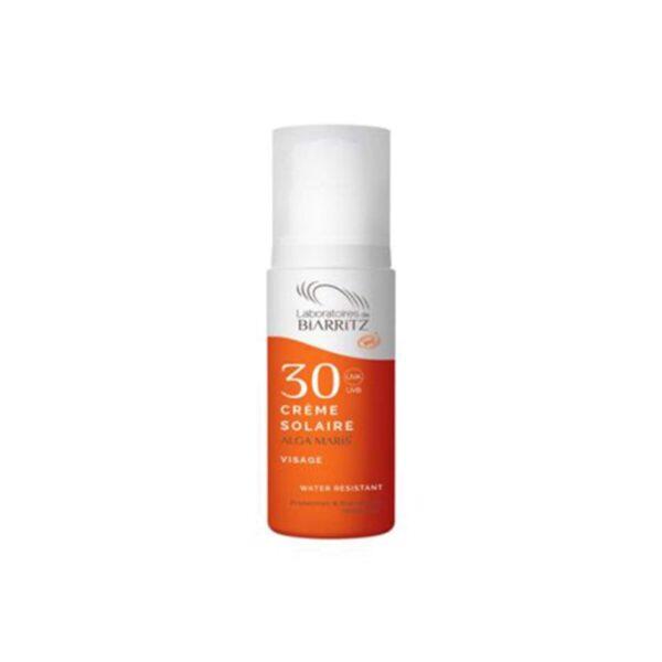 Alga Maris BIO krema za sončenje za obraz SPF30, 50 ml