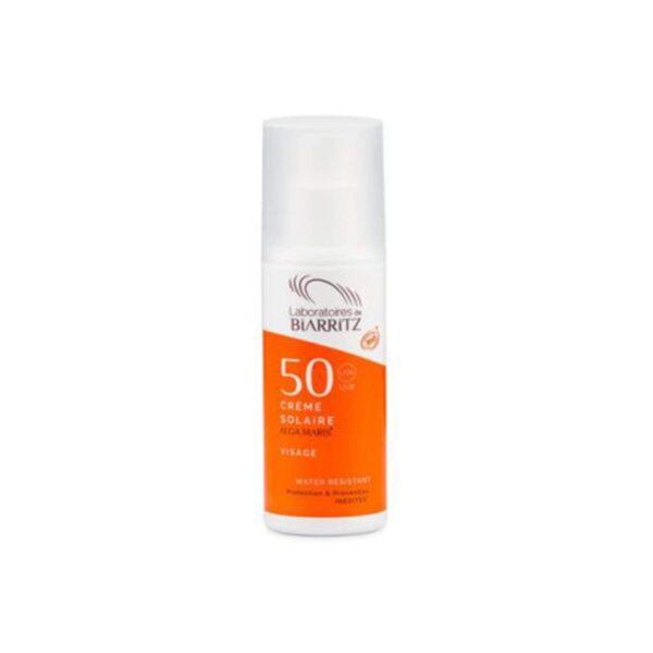 Alga Maris BIO krema za sončenje za obraz SPF50+, 50 ml