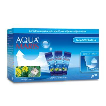 Aqua Maris Talasoterapija naravna morska sol z eteričnimi olji, 30 vrečk