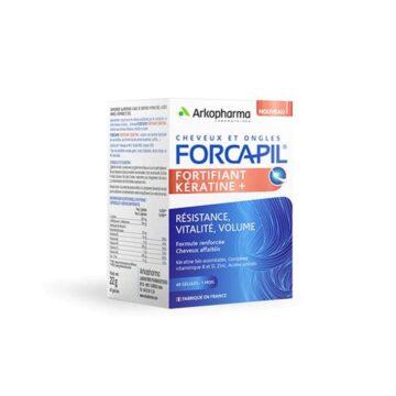 Arkopharma Forcapil Keratine+, 60 kapsul