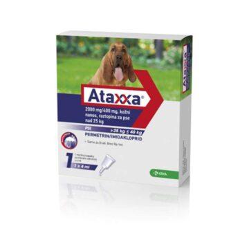Ataxxa 2000 mg-400 mg, kožni nanos, raztopina za pse nad 25 kg
