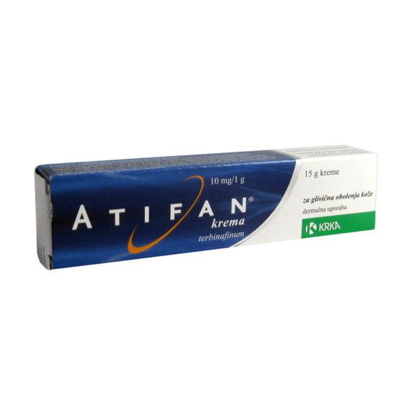 Atifan 10 mg/g krema, 15 g