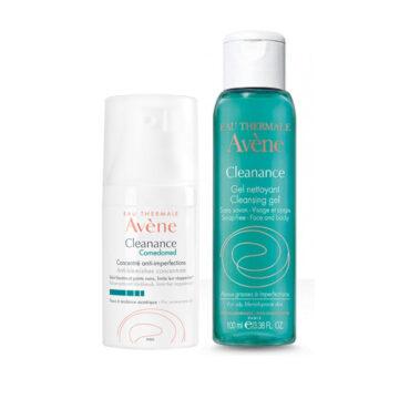 Avene Cleanance Comedomed + DARILO Avene gel, 30 ml + 100 ml