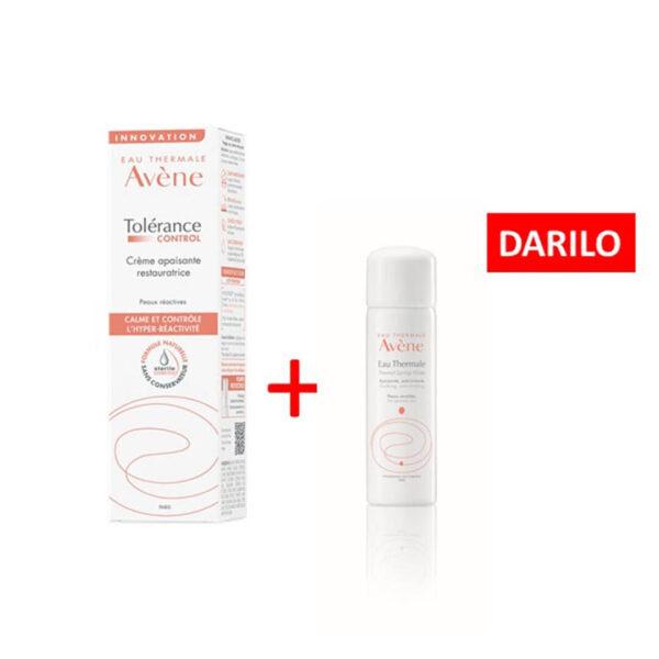 Avene Tolerance Control pomirjujoča krema, 40 ml + DARILO