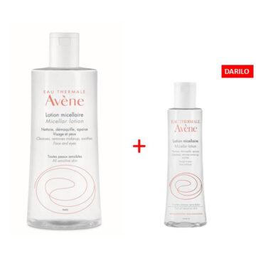 Avene micelarni losjon za odstranjevanje ličil AKCIJA, 500 ml + 100 ml