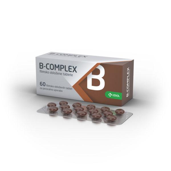 B-complex obložene tablete