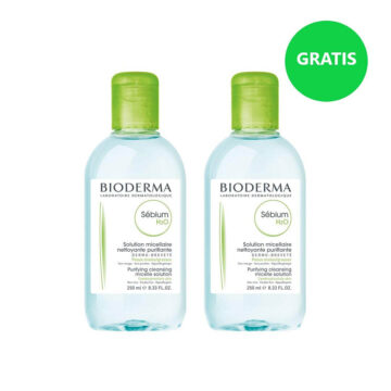 Bioderma Sebium H2O micelarni losjon za čiščenje kože 2 x 250 ml (1+1 GRATIS)