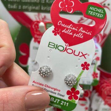 Biojoux medicinski uhani cesarska krogla BJT211