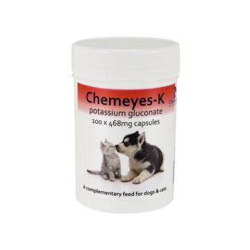 Chemeyes- K peroralni kalij za pse in mačke, 100 kapsul