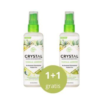 Crystal Naravni deodorant v razpršilu z vonjem vanilija in jasmin, 118 ml