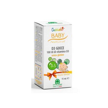 Cucciolo D3 kapljice, 15 ml