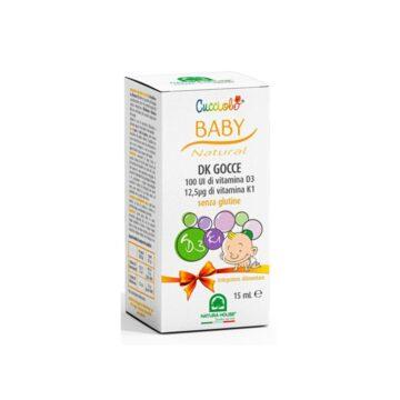 Cucciolo D3+K1 kapljice, 15 ml
