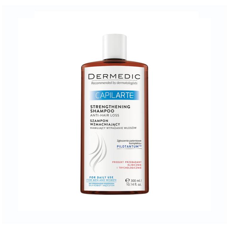 Dermedic Capilarte krepilni šampon proti izpadanju las, 300 ml