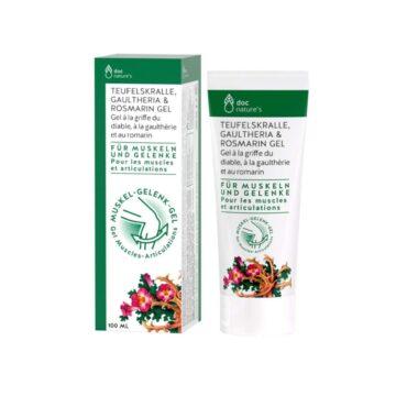 Doc Nature's vražji krempelj, golterija in rožmarin gel, 100 ml