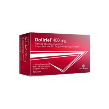 Dolirief 400 mg filmsko obložene tablete, 20 tablet