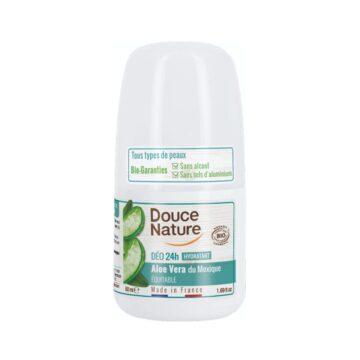 Douce Nature naravni deodorant roll-on 24h aloe vera, 50 ml