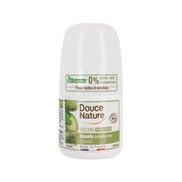 Douce Nature naravni deodorant roll-on 24h mandelj, 50 ml