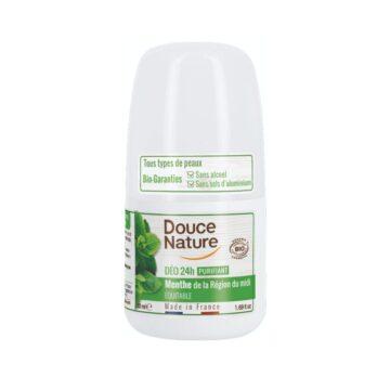 Douce Nature naravni deodorant roll-on 24h meta, 50 ml