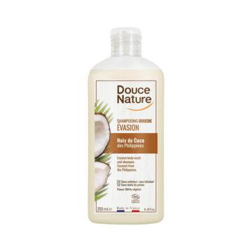 Douce Nature naravni gel in šampon za tuširanje kokos, 250 ml
