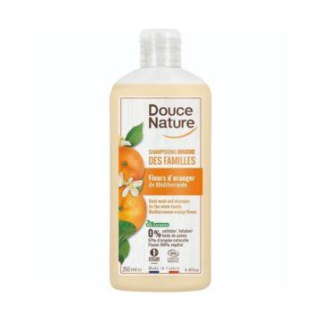 Douce Nature naravni gel in šampon za tuširanje pomarančni cvet, 250 ml