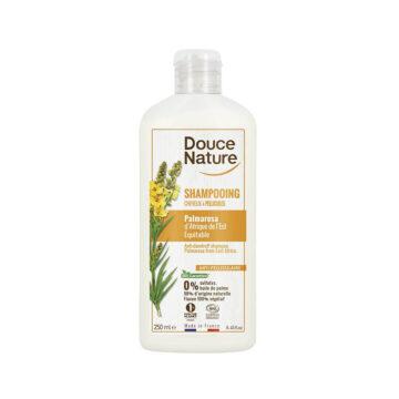 Douce Nature naravni šampon za lase proti prhljaju palmarosa, 250 ml