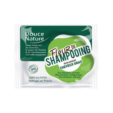 Douce Nature naravni trdi šampon za mastne lase, 85 g