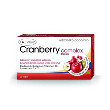 Dr. Böhm Cranberry Complex, 30 tablet