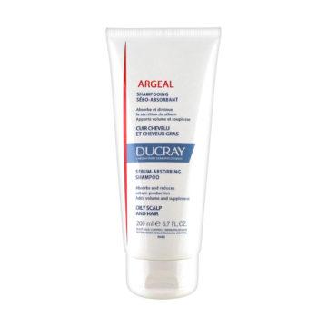 Ducray Argeal krem šampon z glino proti mastnim lasem, 200 ml