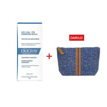 Ducray Kelual DS šampon, 100 ml + TORBICA