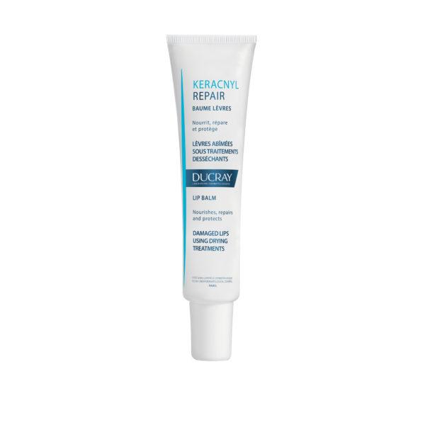 Ducray Keracnyl Repair regenerativni balzam za ustnice, 15 ml
