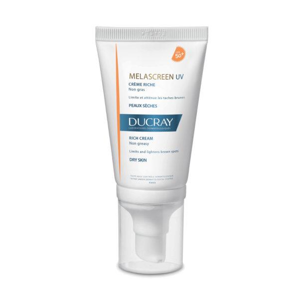 Ducray Melascreen bogata krema za zaščito kože ZF 50+, 40 ml