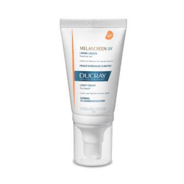 Ducray Melascreen lahka zaščitna krema pred soncem ZF50+, 40 ml