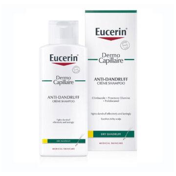 Eucerin DermoCapillaire šampon proti prhljaju za suhe lase, 250 ml