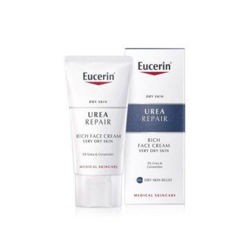 Eucerin UreaRepair 5% nočna krema za obraz, 50 ml