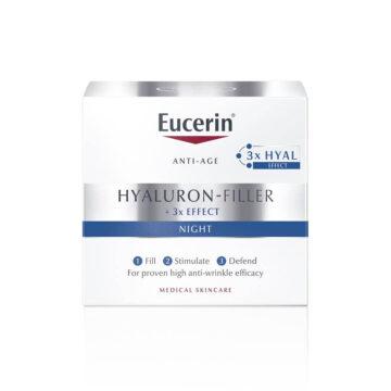Eucerin Hyaluron-Filler nočna krema, 50 ml
