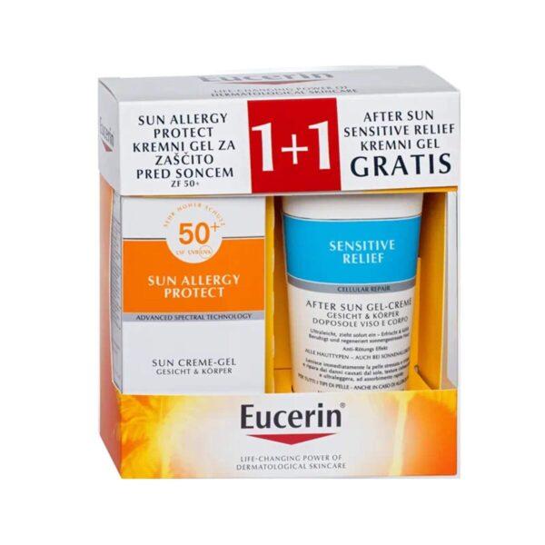 Eucerin Sun Allergy Protect paket 2021 (2 x 150 ml)