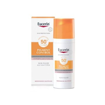 Eucerin Sun Pigment Control fluid za zaščito pred soncem ZF50+, 50 ml