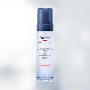 Eucerin UreaRepair PLUS pena za prhanje, 200 ml