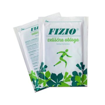 Koželj Fizio zeliščna obloga, 1 obloga