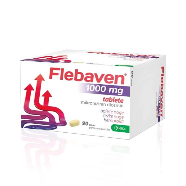 Flebaven 1000 mg filmsko obložene tablete