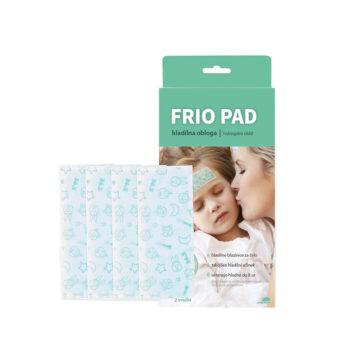 Frio Pad hladilna obloga za otroke 4,5 x 11 cm, 4 obloge