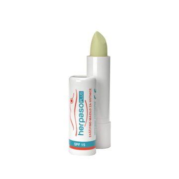 Herpaso Plus zaščitno mazilo za ustnice ZF15, 4,5 ml